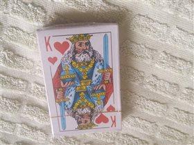 игральные карты. новые