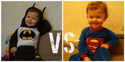Бэтмен против Супермена!