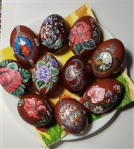 Пасхальные яйца 1