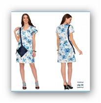Платье эйр 06 цветы