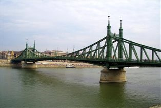Будапешт. Мост Свободы.