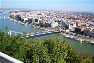 Будапешт. Мост Эржебет