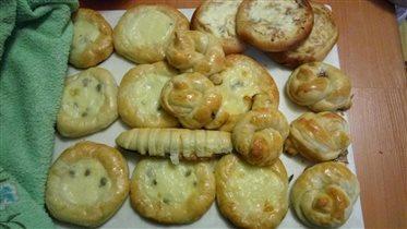 Пирожков много не бывает:)