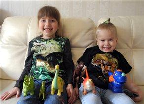 Любимые динозавры :)