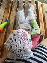 Отдыхаем с дочей и дышим свежем воздухом