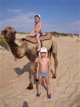 Дети в пустыне!
