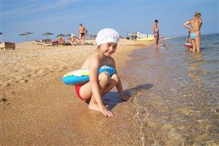 Теплая водичка. Азовское море.