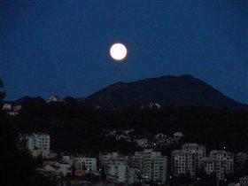 Лунная ночь. Черногория.