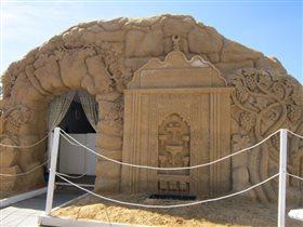 Древнеегипетский храм из песка
