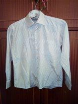 рубашка Bossado белая  10 лет 300руб
