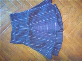 Юбка серо-синяя Франция на 8-9лет 300 рую