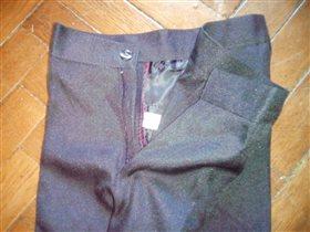 Черные брюки Киргизия, 6-7 класс