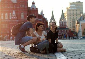 Лови тепло, красота Москвы