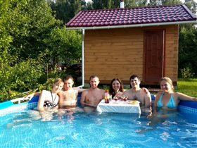 Чудный день у бассейна)