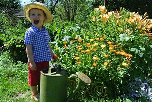 Я садовником родился!))