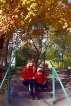 Встречаем осень в ярких красках.