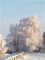 Мордовская зима