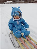 Снежный гонщик.