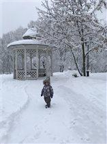 Полиночка в зимней сказке!
