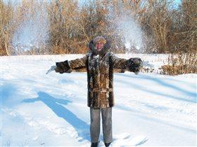 Снежный салют)))