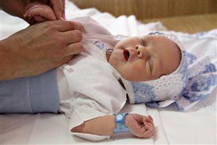 Сон новорождённого крохи