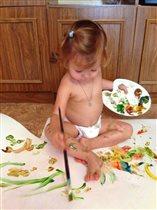 Рисовать никогда не рано начать