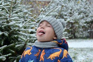 Вкусный снег