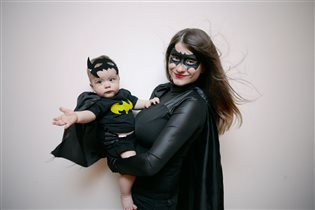 Супермама и мой супергерой!