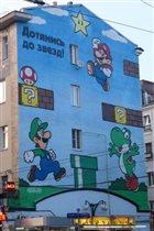 Марио и Луиджи в центре Москвы