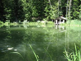 Озеро Караголь (Черепашье) на горе Могаби, Крым