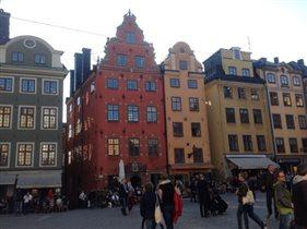 Главная туристическая площадь Стокгольма