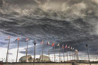 Сгущение красок над Олимпийским парком