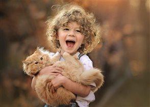 Счастье - это дружба с животными