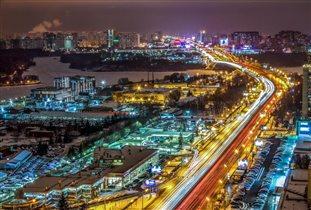 Москва. Ленинградское шоссе.