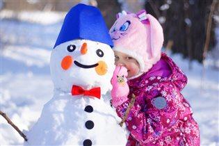 Снеговик-снеговик! Ты откуда здесь возник?