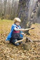 Настоящий рыцарь (витязь, воин, богатырь) кует себе меч сам, никому не доверяя.