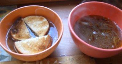 Заготовка для лукового супа