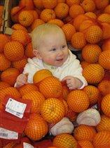 А меня нашли в апельсинах!
