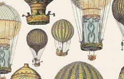 Бумага для декупажа. Воздушные шары