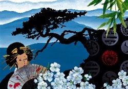 Бумага рисовая для декупажа. Япония