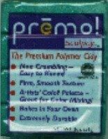 Пластик полимерный Premo. Цвет зелёный перламутров