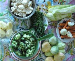 Овощное пюре 1