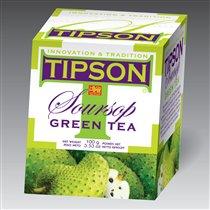 Зеленый чай с фруктом саусэп