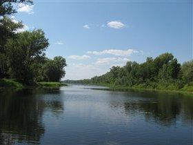 приток к реке Волга