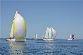 Наши яхты в гонке, апрель 2011, Адриатика