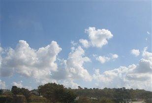 Вы по небу нас промчите - облака!