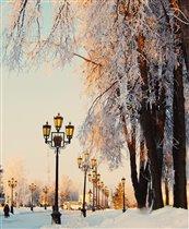 Зимние краски города