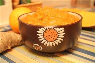 тыквенно-имбирный соус с апельсинами