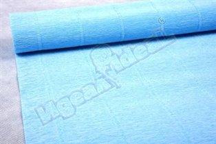Бумага гофрированная простая 559 светло-голубой