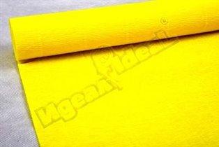 Бумага гофрированная простая 575 ярко-желтый